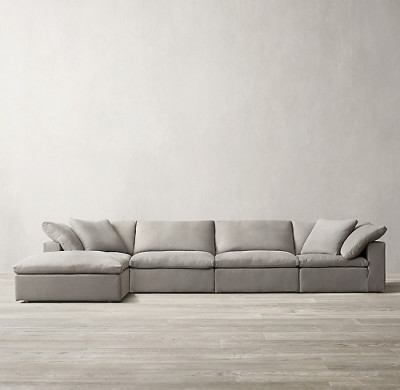 Sofá modular con chaise lounge Cloud
